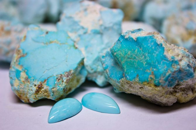 Голубой амазонит