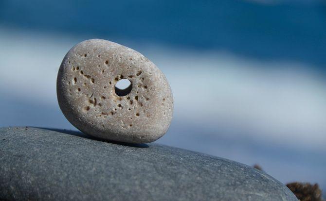 Красивый камушек