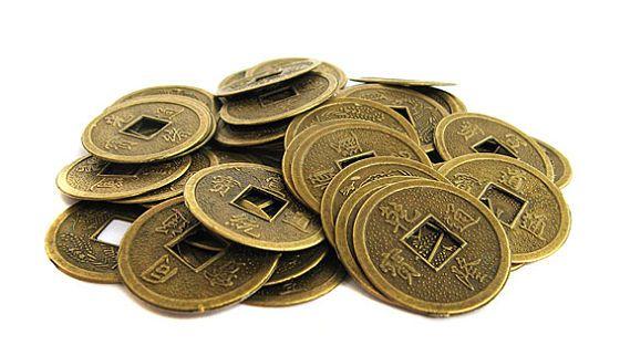 Набор китайских монет