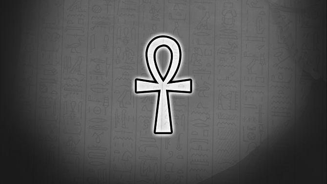 Древний символ Египетский крест