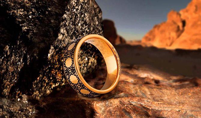 Сувенирное кольцо
