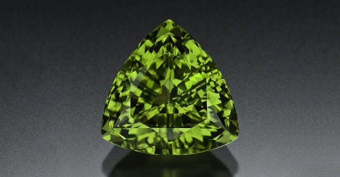 Зеленый минерал
