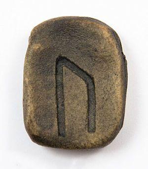 Символ на камне