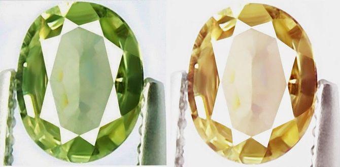 Зеленый и золотой султанит