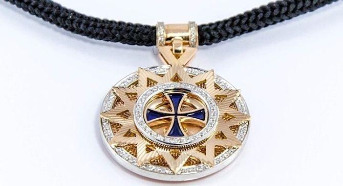 Эрцгамма с крестом