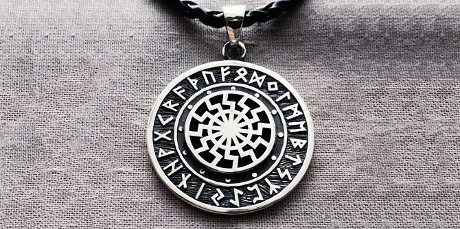 Символ в руническом круге
