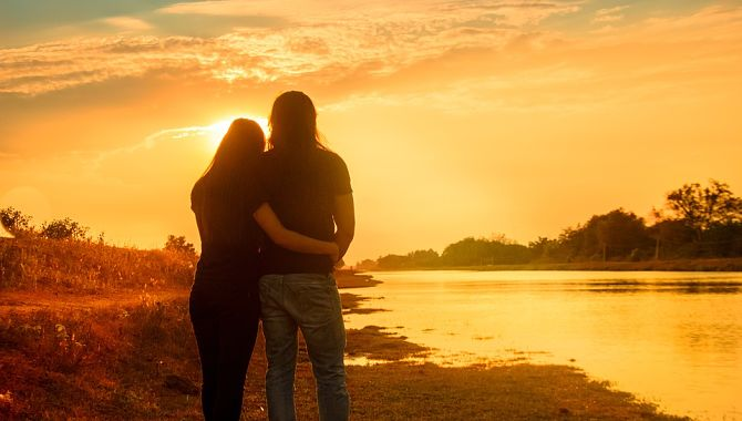 Романтический закат
