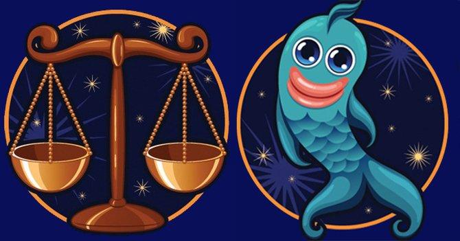 Весы и Рыбы