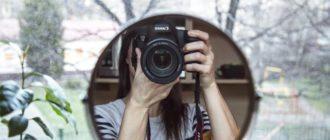 фотографировать себя в зеркале