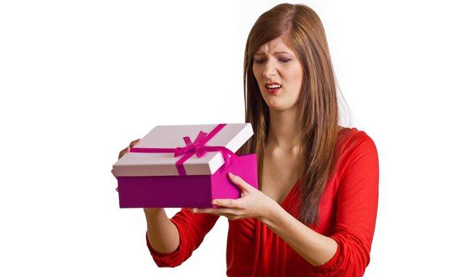 Не нужный подарок