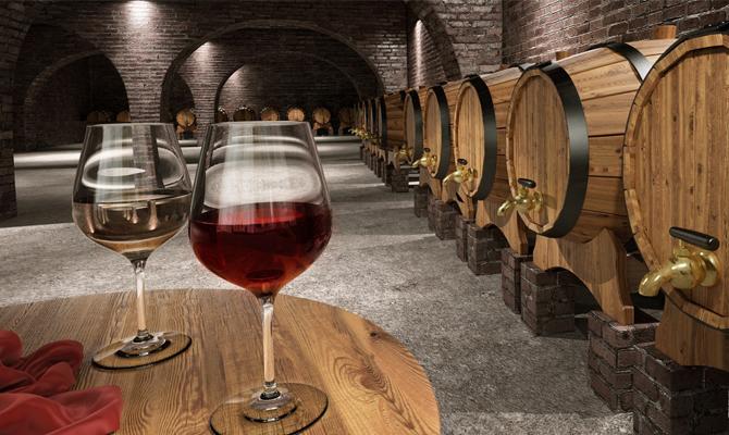 Вино из бочки