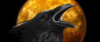 Каркает ворона
