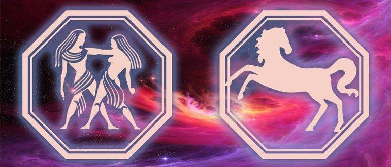 Близнецы Лошадь