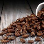 Просыпанное кофе