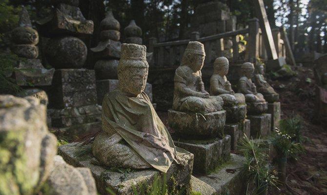 кладбище буддистов