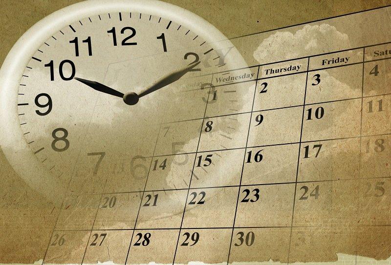 Проходят дни и время