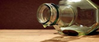 Пустая бутылка
