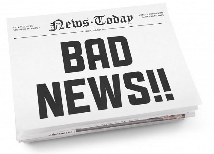 Плохие новости