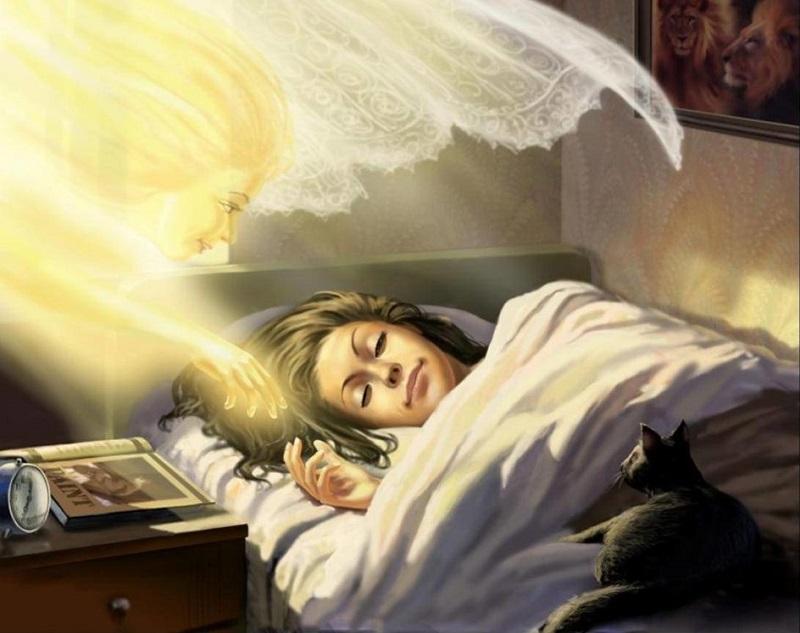 Помощь от ангелов