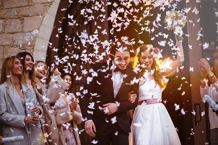 рис для молодоженов на свадьбе