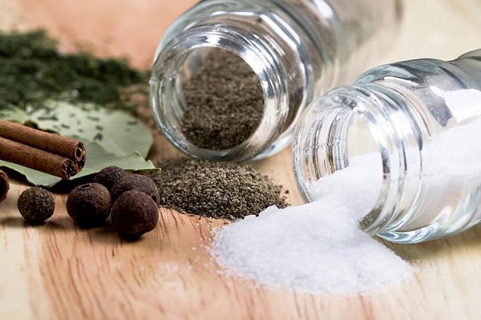 перец и соль